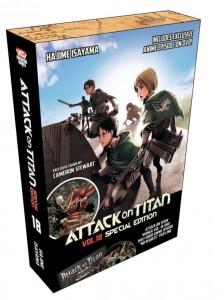 Attack on Titan Volume 18 SE
