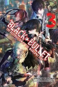 Black Bullet Novel 3 Cover