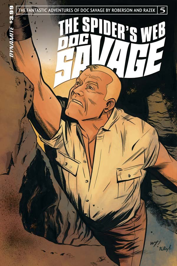 Doc Savage Spider's Web Issue 5 Cover