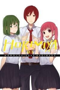 Horimiyia Volume 3 Cover