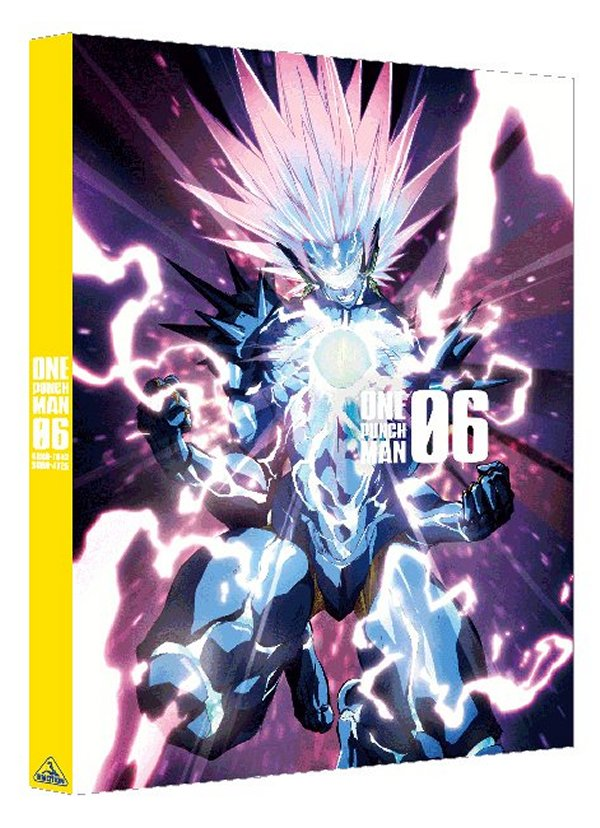 One-Punch Man Japanese Volume 6 Cover