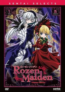 Rozen Maiden Complete DVD Front Cover