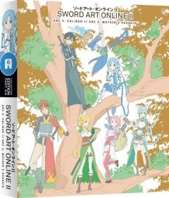 Sword Art Online II Part 3 UK DVD Cover