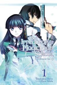 The Irregular at Magic High School Light Novel 1 Cover