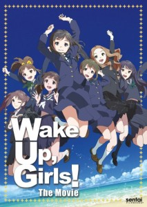 Wake Up Girls DVD Front Cover
