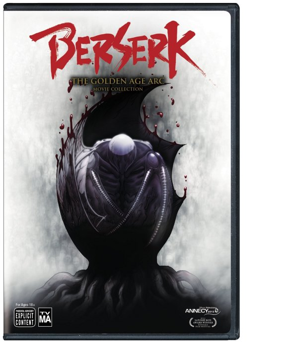 Berserk DVD Front Cover