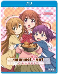 Gourmet Girl Graffiti Blu-ray Front Cover