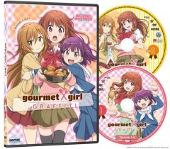 Gourmet Girl Graffiti DVD Packaging