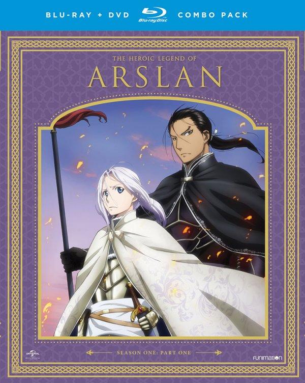 Heroic Legend of Arslan Season 1 Part 1 Cover