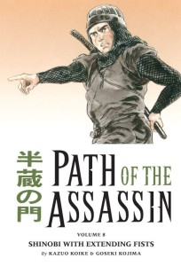 Path of the Assassin Volume 8 Cover