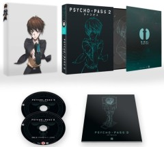 Psycho-Pass 2 UK Packaging