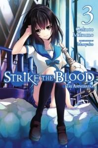 Strike the Blood Novel 3 Cover