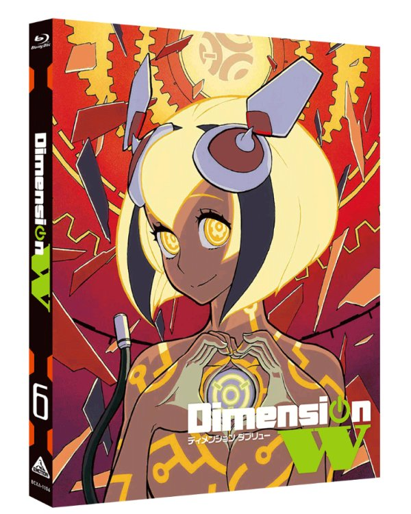 Dimension W Japanese Volume 6 Cover