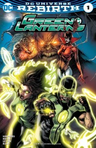 Green Lanterns Issue 1 Cover