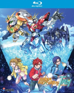 Gundam Build Fighters Try Blu-ray Cover