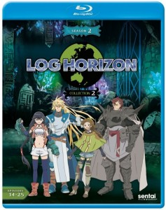 Log Horizon 2 Collection 1 Blu-ray Front Cover