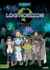 Log Horizon 2 Collection 2 DVD Front Cover