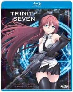 Trinity Seven Blu-ray Front Cover