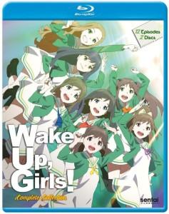 Wake Up Girls Season 1 Blu-ray Front Cover