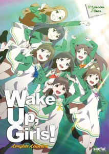 Wake Up Girls Season 1 DVD Front Cover