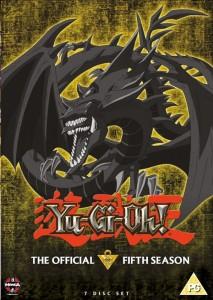 Yugioh Season 5 DVD UK Cover