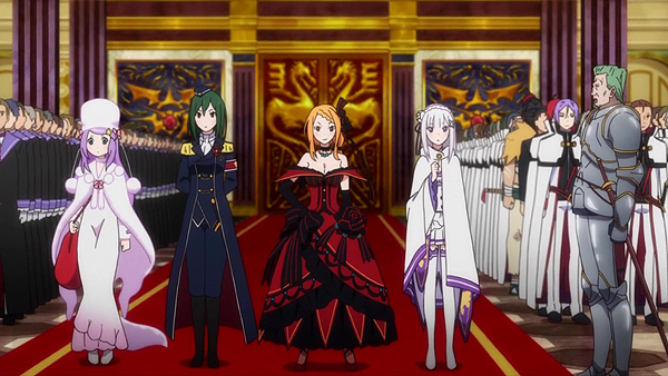 Anime Characters Named Zero : Re zero episode anime review