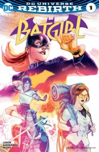 Batgirl Issue 1 Cover