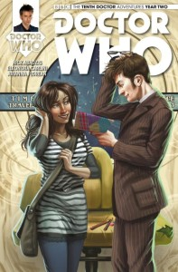 Doctor Who Tenth Doctor Issue 2.12 Cover