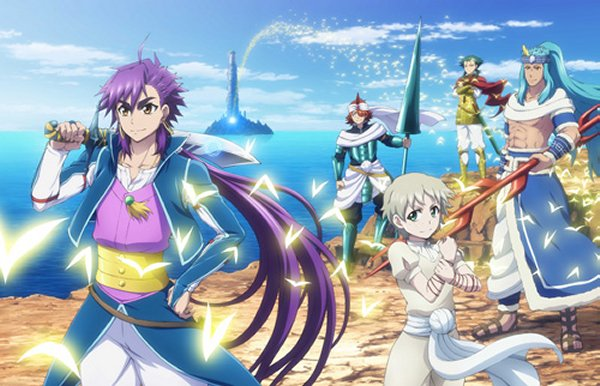 Netflix Begins Streaming 'Magi: Adventure of Sinbad' Dubbed