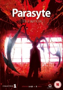 Parasyte Collection 1 UK DVD Cover