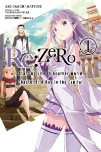 Re Zero Volume 1 Manga Cover