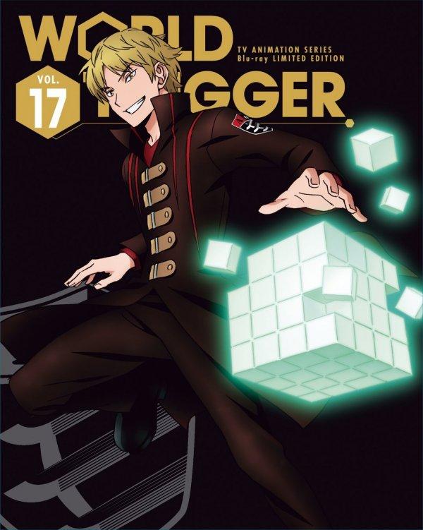 World Trigger Japanese Volume 17 LE Cover