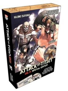 Attack on Titan Volume 19 Special Edition Packaging