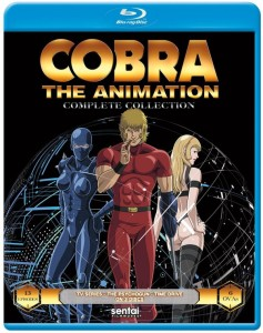 Cobra the Animation Blu-ray Front Cover