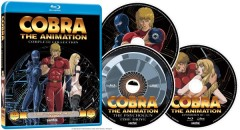 Cobra the Animation Blu-ray Packaging