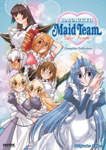 Hanaukyo Maid Team La Verite Image DVD Cover