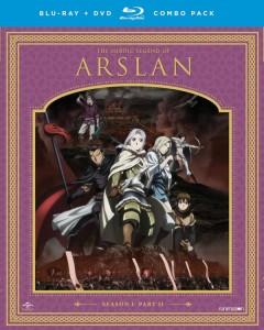 Heroic Legend of Arslan Season 1 Part 2