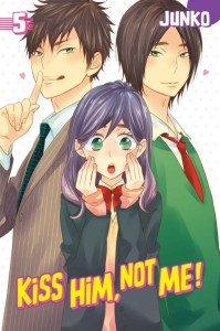 Kiss Him Not Me Volume 5 Cover