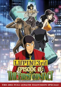 Lupin the 3rd First Contact Cover