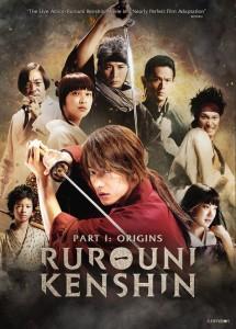 Rurouni Kenshin Movie 1 Cover