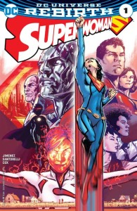 Superwoman Issue 1 Cover
