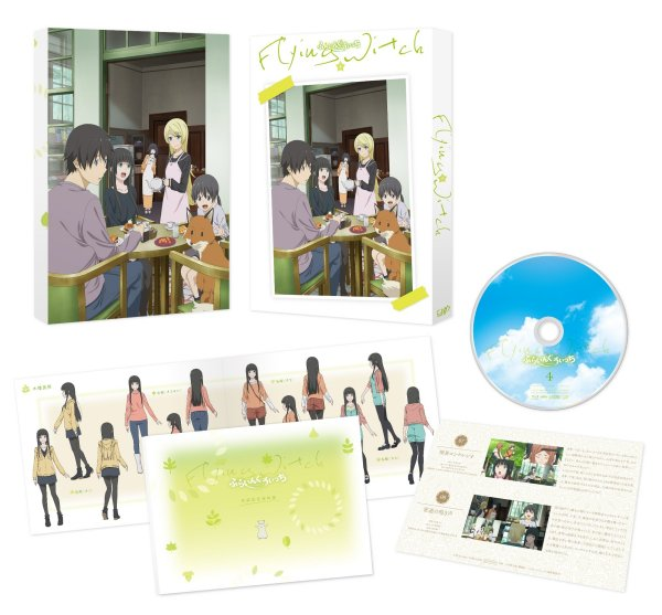 Flying Witch Japanese Volume 4 Packaging