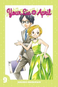 Your Lie in April Volume 9 Cover