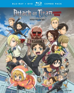 Attack on Titan Junior High DVD-BD Cover