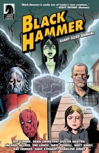 Black Hammer Annual Cover