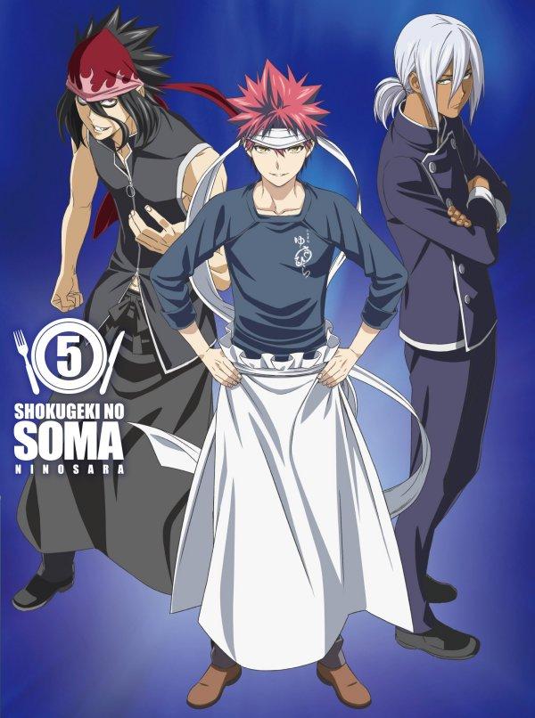 Food Wars Season 2 Japanese Volume 5 Cover