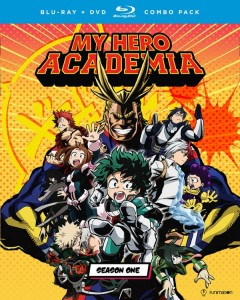My Hero Academia Season 1 Blu-ray Cover