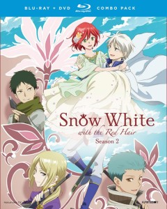 Snow White with the Red Hair Season 2 Blu-ray Cover
