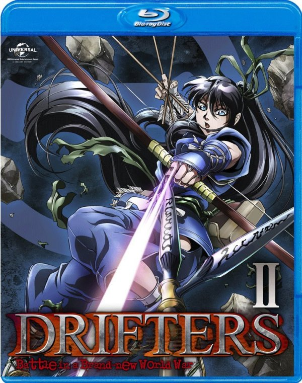 Drifters Japanese Volume 2 Cover