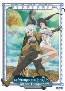 Is it Wrong to Try to Pick Up Girls in a Dungeon TV DVD Front Cover